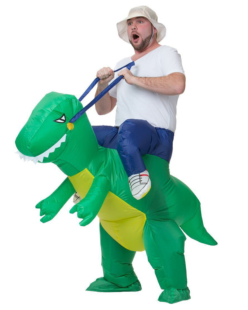 Riding Dinosaur Costume  sc 1 st  Larryu0027s Life & Riding Dinosaur Costume - Larryu0027s Life