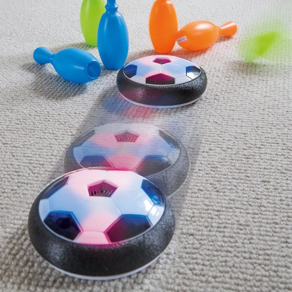 Hover Ball Toy : Indoor soccer hover ball larry s life