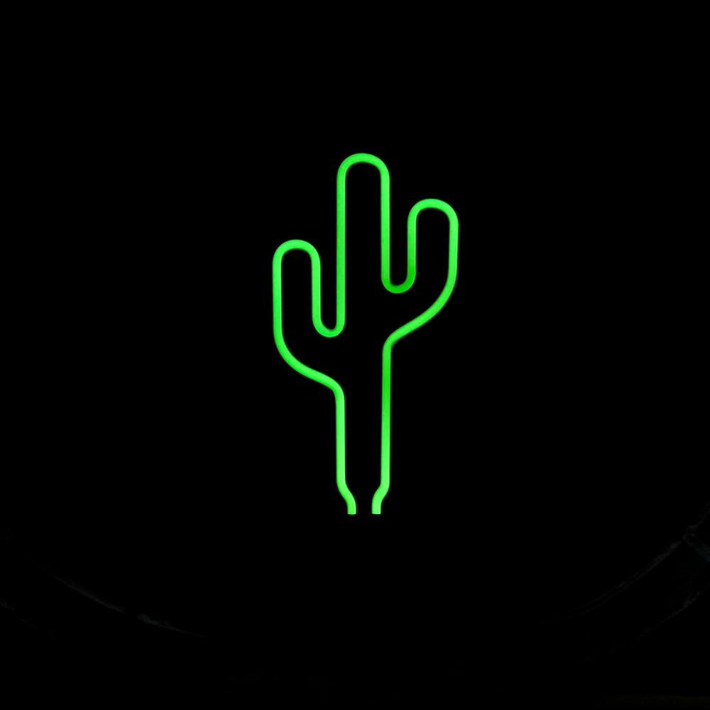 Neon Cactus Light Larry S Life