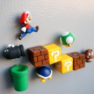 Mario Fridge Magnets
