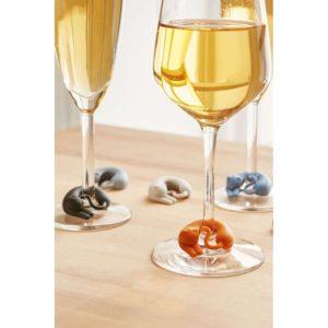 Kitten Wine Glass Markers